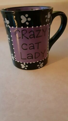 OUR NAME IS MUD LORRIE VEASEY Crazy Cat Lady Coffee Mug
