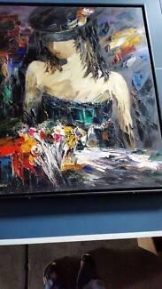 Sergei Inkatov (Ukraine) - Very Large Oil Painting