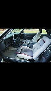 1986 ford mustang gt seats with halos front and rear