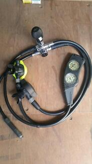Dive gear used