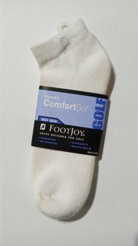 FJ ComfortSof Low Cut Women Socks White NEW