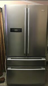 Haier Stainless Steel French Door Fridge Freezer Ice Maker Bracken Ridge Brisbane North East Preview