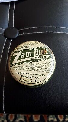 Vintage Zam - Buk Tin And Contents. for sale  Newport