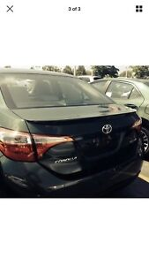 Toyota Corolla Spoiler wing sports edition