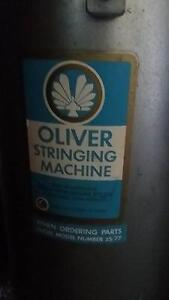 Oliver Stringing Machine Nagambie Strathbogie Area Preview