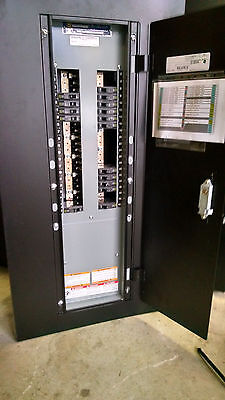 Square D Nqod Circuit Breaker Panel Board Mlo Main 225amp 42ckt