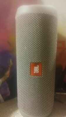 JBL Flip 4 Wireless Bluetooth Portable Speaker System (Grey)
