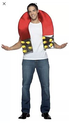 CHICK MAGNET Men Halloween Costume Mens Cosplay Adult