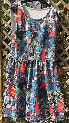 Fun Fancy Dress With Superman Pattern Size (Superman Fancy Dress Kostüm)