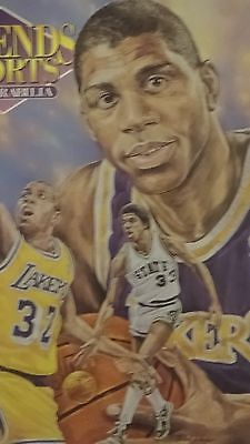 3 Legends Sports Memorabilia magazines 1992  Magic Johnson, Daryl Strawberry...
