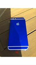 Custom Blue and white iPhone 6+ 16gb fully working Heathridge Joondalup Area Preview
