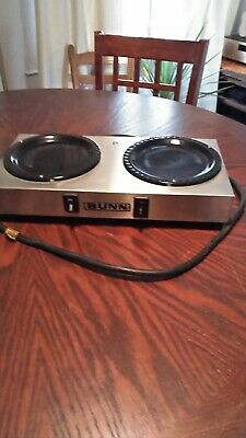Bunn Coffee Warmer Station Model Wx-2 120 Volts