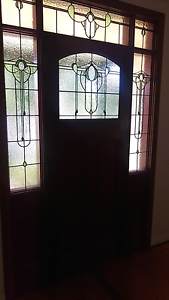 Timber and stained glass entrance. Pyalong Mitchell Area Preview