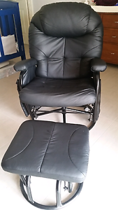Glider Nursing Chair and Stool Set Forrestfield Kalamunda Area Preview
