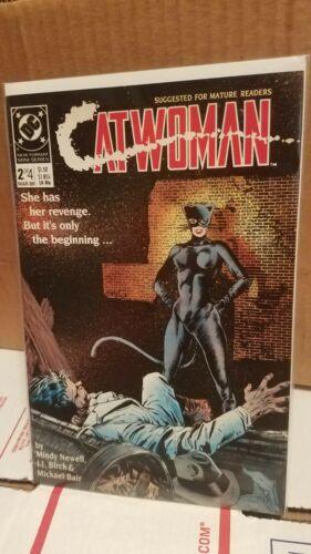 "LOT OF 3 DC Comics ""Catwoman"" (NM)  #2,#3 & #4 OF 4 (1989)"