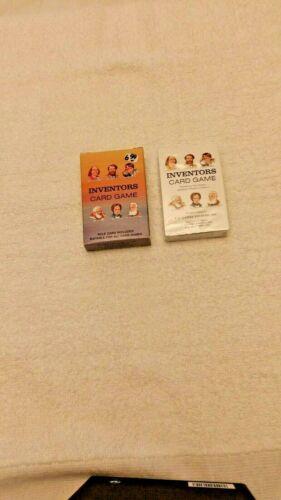 "Vintage Unused 1989 U.S. Games Systems ""Inventors"" Educational Card Game"