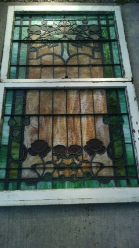 EXCEPTIONAL STAIN GLASS WINDOW