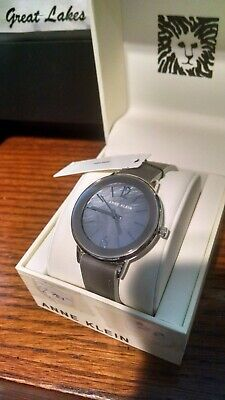 Anne Klein Women's Lavender Leather Strap Watch NEW!