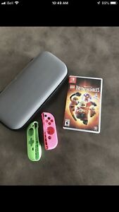 Incredibles Nintendo Switch game and case