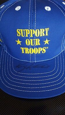 c4bd1c228d8 Kasey Kahne Autographed Good Year Support Our Troops Hat