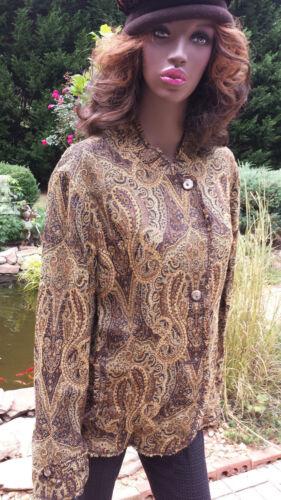 JONES  NEW  YORK   Women's  Multi-Color   Jacket    Blazer   Size 22W  PLUS SIZE