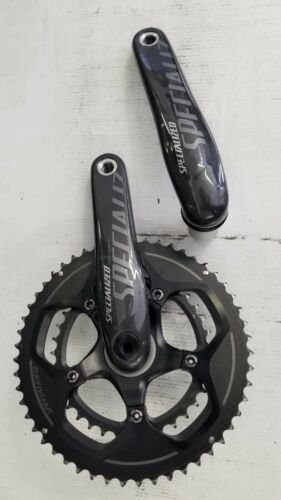 Specialized FACT Carbon Fiber Road Crank set & rings 172.5 Triathlon Road Bike