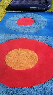 Large bright colorful  rug Bossley Park Fairfield Area Preview