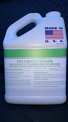 Tile Grout Cleaner 2 Gallon Concentrate Makes Up To 150 Gallons Patriot Chemical