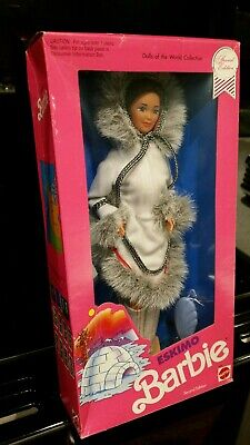 1990 ESKIMO Barbie Doll DOTW Collection #9844 NRFB