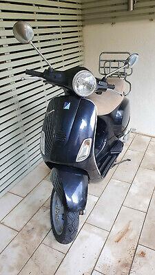 Piaggio Vespa LX 125 black