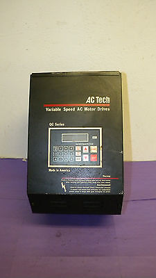 Ac Tech Q12015b Variable Speed Ac Motor Drive
