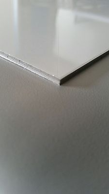 Lot Of  10  16 X24  Aluminum Composite Material Sign Panels Matte White