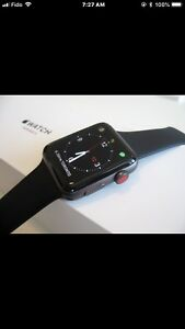 Apple watch series 3 42 mm GPS and Cellular