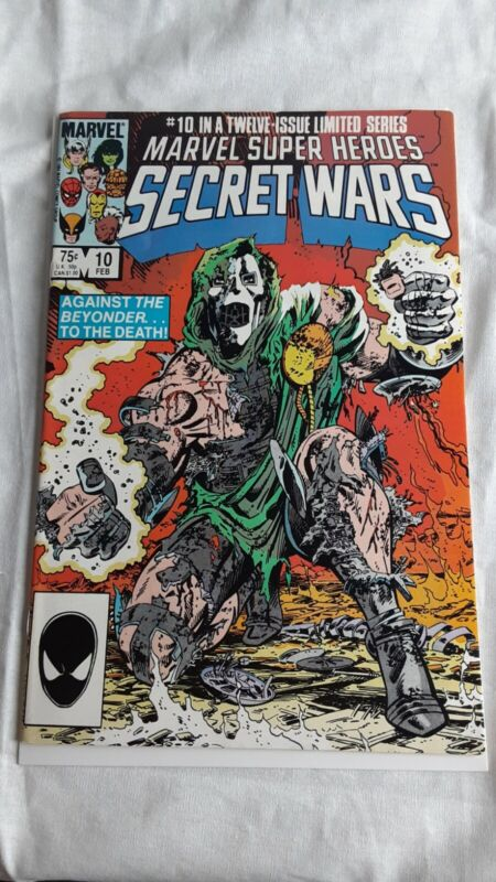 Marvel Super-heroes Secret Wars #10 - DR.DOOM Cover Art!