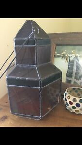 Stained Glass Decor/Candle Shelter