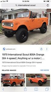 Wanted - International Scout