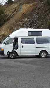 CAMPER VAN HIRE ULVERSTONE/TAS - 1998 Toyota Hiace Hi-Top Ulverstone Central Coast Preview