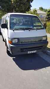 1998 Toyota Hiace 5spd manual Box Hill Whitehorse Area Preview