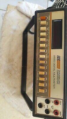 Bk Precision 2830 3 12 - Digit - Digital Multimeter Working.