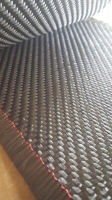 10 Ft 8 Carbon Fiber Fabric 2x2 Twill Weave 12k 19.7 Oz Sq Yd