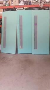 frosted glass entrance doors $120 each Kellyville Ridge Blacktown Area Preview