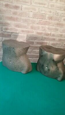 Pair Vintage Lfw Wolf Vine Female Torso Retail Display Stands Countertop