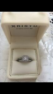 Platinum diamond ring custom made Mentone Kingston Area Preview