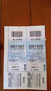 Guns n' Roses 2x Sydney tickets! Howden Kingborough Area Preview