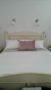 French provincial custom made bed and bedside tables and tallboy Hampton Park Casey Area Preview
