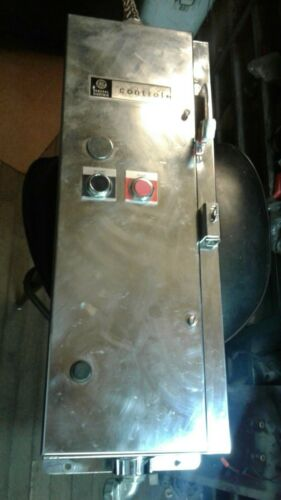 GE Size 2 Combination Motor Starter STAINLESS