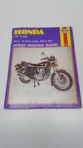 Honda CB750 Workshop Manual******1979 Oxenford Gold Coast North Preview