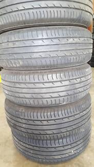 205/60R16  HIGH TREAD SECONDHAND TYRES $63.00