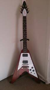 2009 Gibson Flying V Faded Cherry w/ Hard Case Sefton Bankstown Area Preview
