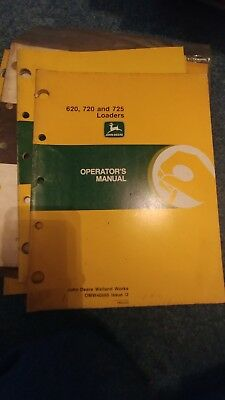John Deere 80 541 521 540 520 440 410 460 430 440 725 720 620 Loader Manual